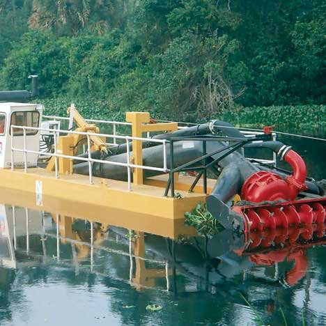 Ingenuity: High volume dredging services