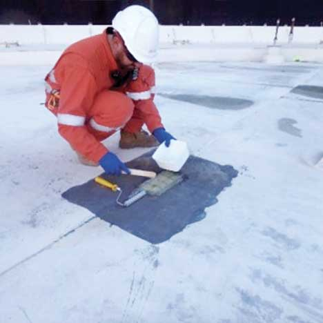 Ingenuity: In service floating roof patch services