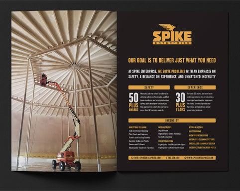 Spike Enterprise brochure