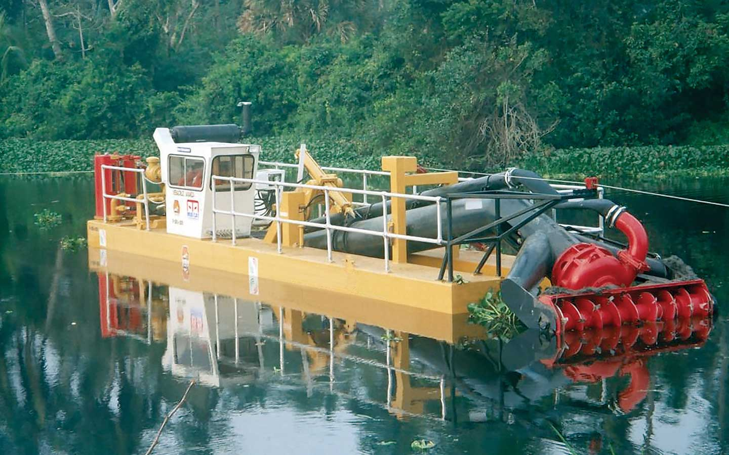 High Volume Dredging services by Spike Enterprise