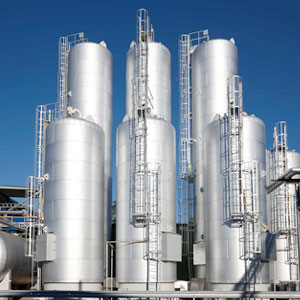 Slop oil storage tanks
