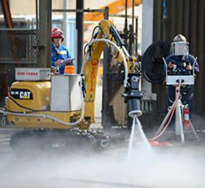Image of Automated Hydroblasting services provided by Spike Enterprise