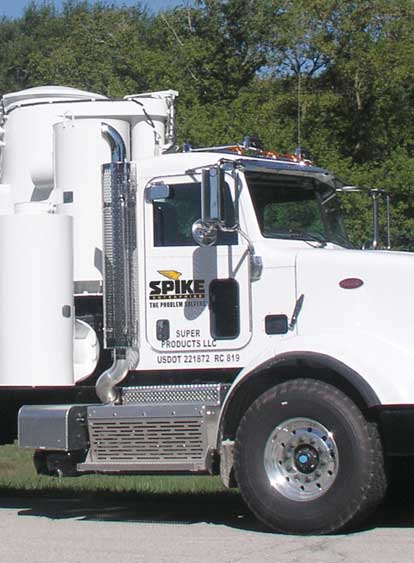 Vacuum Truck Services by Spike Enterprise